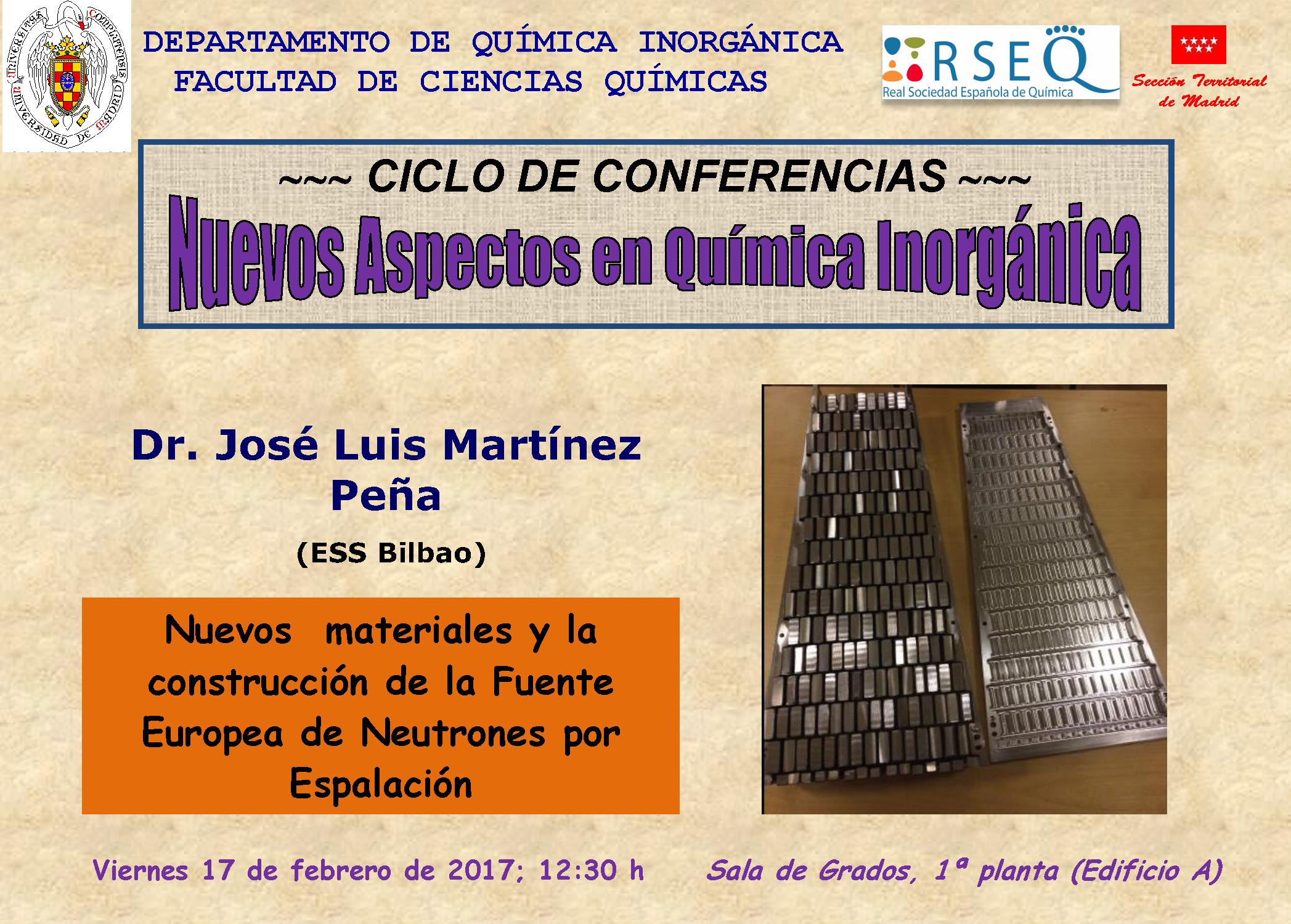 1ª conferencia - Nuevos Aspectos en Quimica Inorganica_2017