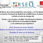 Entrega de premios a las mejores tesis