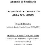 Las claves de la comunicación social de la ciencia