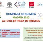 Aplazamiento del Acto de entrega de premios de la OQM