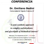 Conferencias en el IQOG-CSIC
