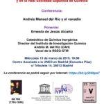 Conmemorando el AITP en Madrid
