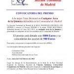 Premio a Tesis Doctoral