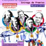 Olimpiada de Química de Madrid. Entrega de premios.